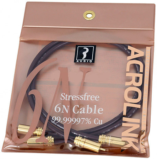 Acrolink. Stress Free 6N Cable 99,99997 Cu